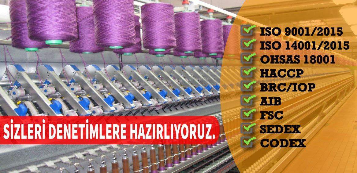 tekstil sektörü uygunluk belgeleri danışmanlık iş güvenliği